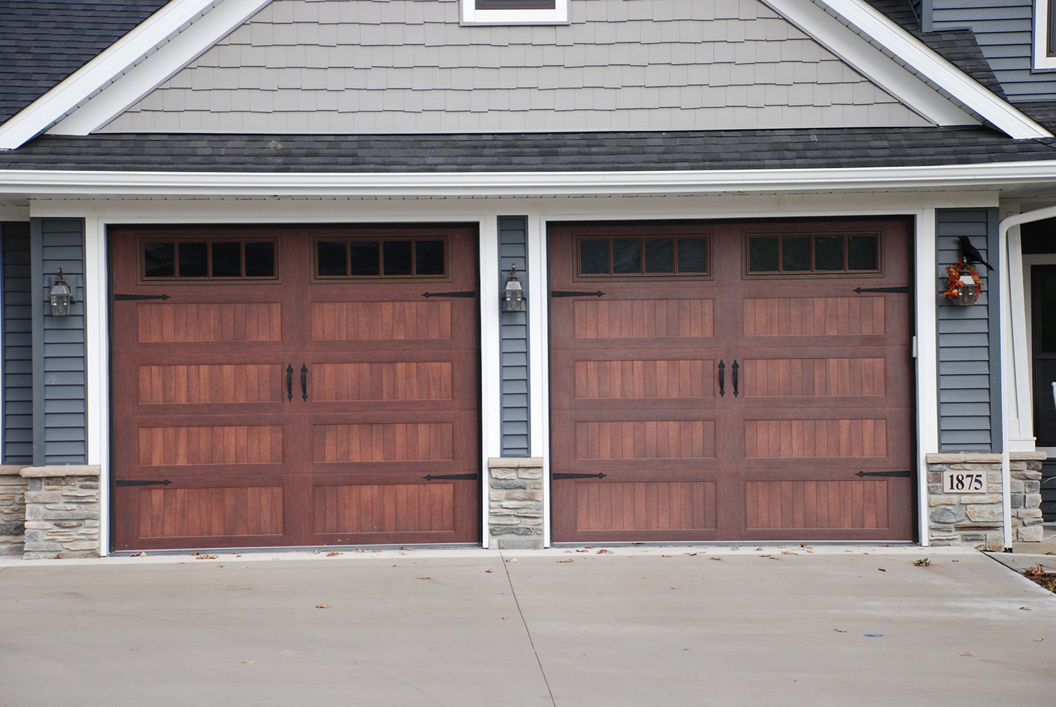 1004 #80524B Stained Metal Garage Doors® Stained Metal Doors image Overhead Garage Doors Residential Reviews 37131500