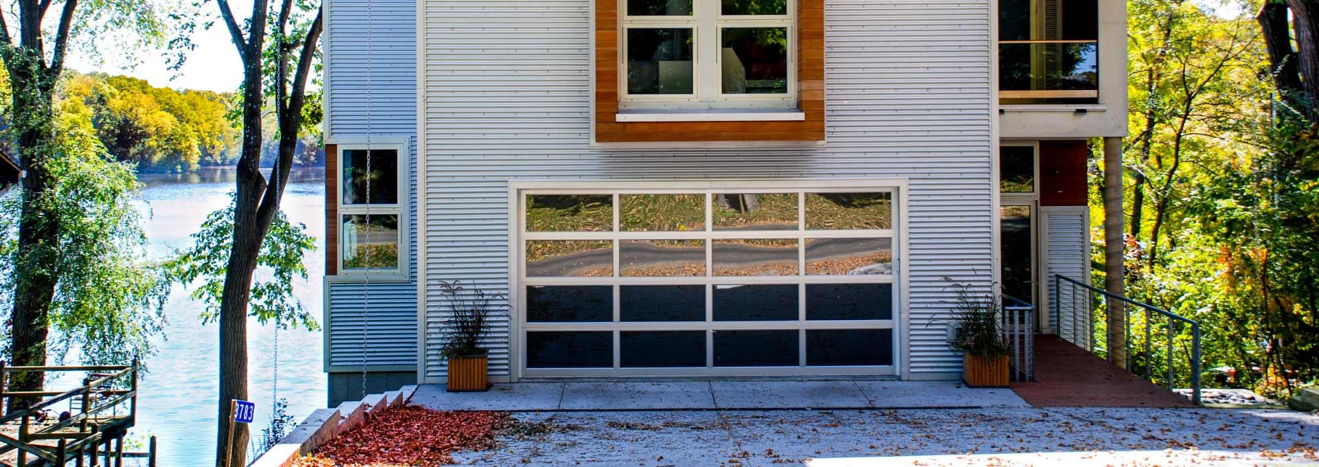 Modern Aluminum Garage Doors Glass Overhead Door