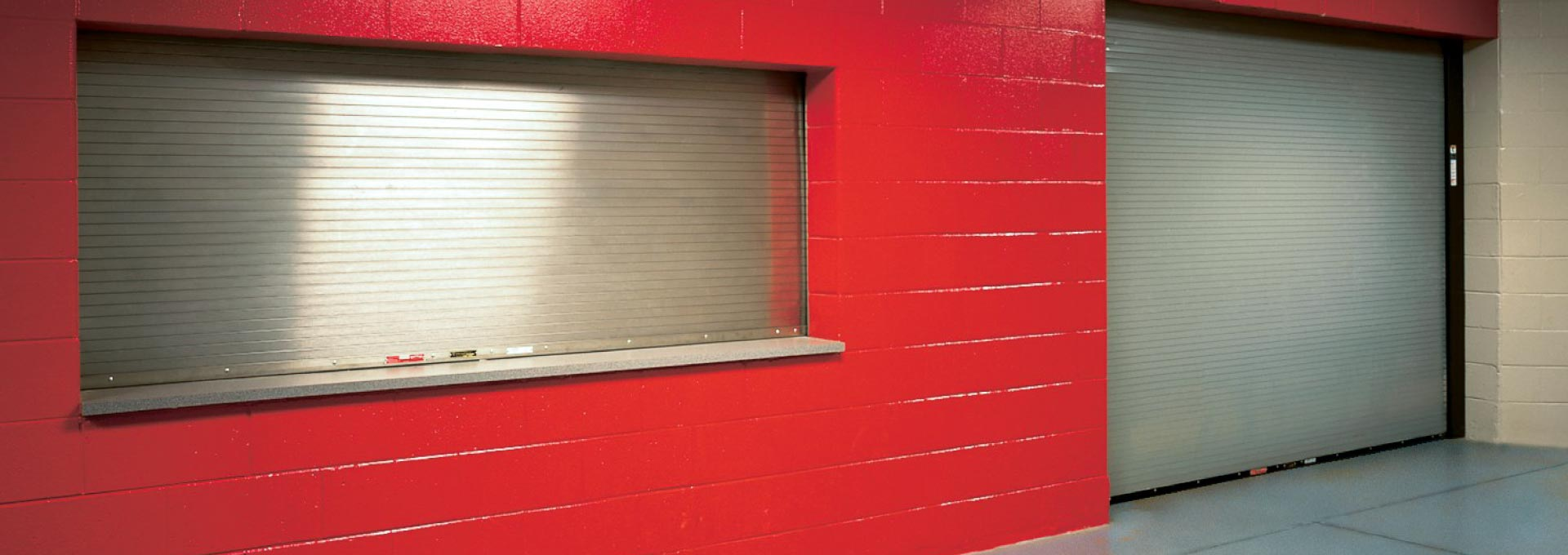 Wide array of rolling steel doors to demanding fire-safety standards and discerning aesthetic requirements