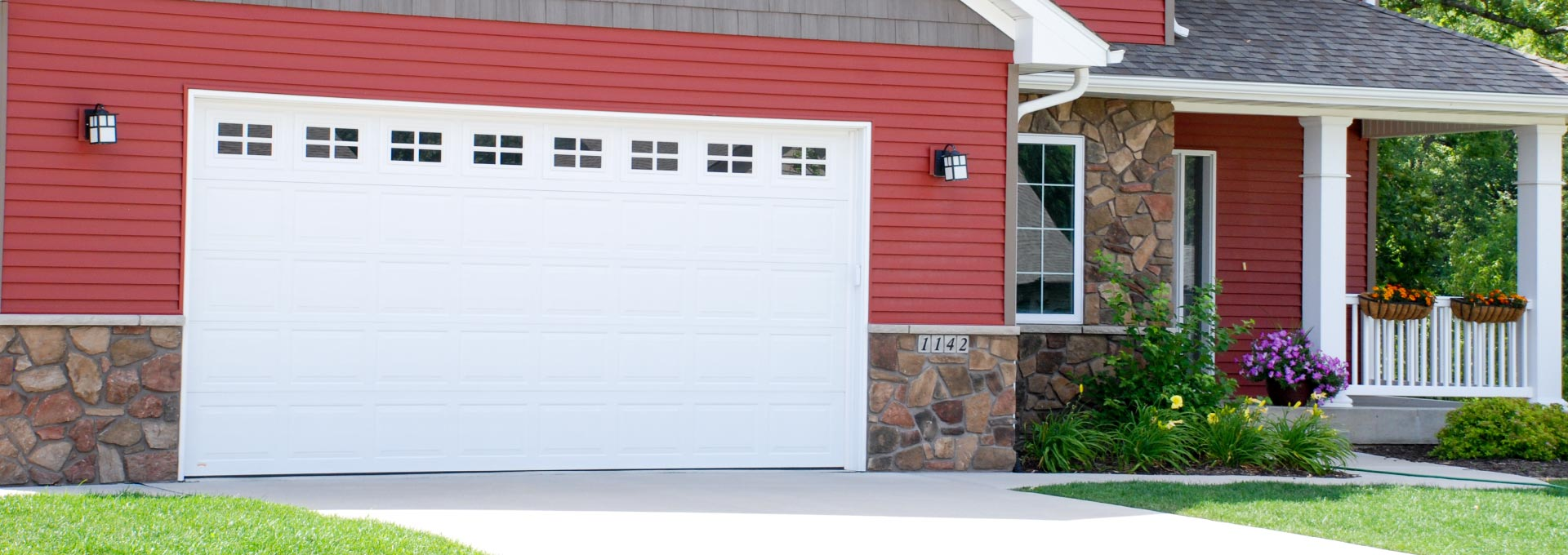 Nice Premium Insulated Steel Garage Doors.