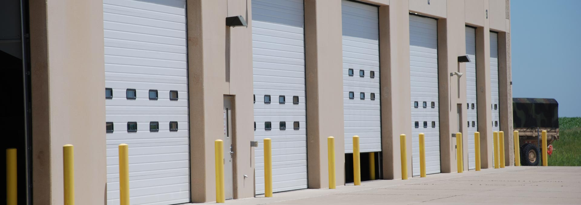 Premier insulated sectional steel door